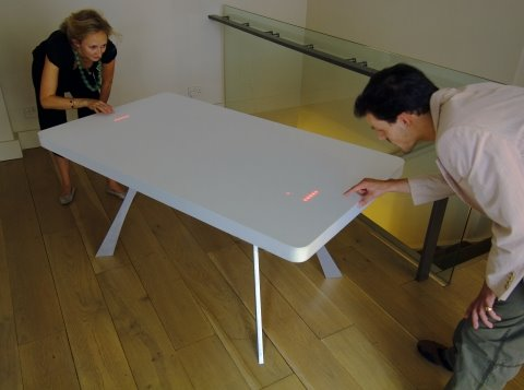 led pong table