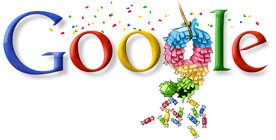 Google 9 compie 9 anni - Happy Birthday Google