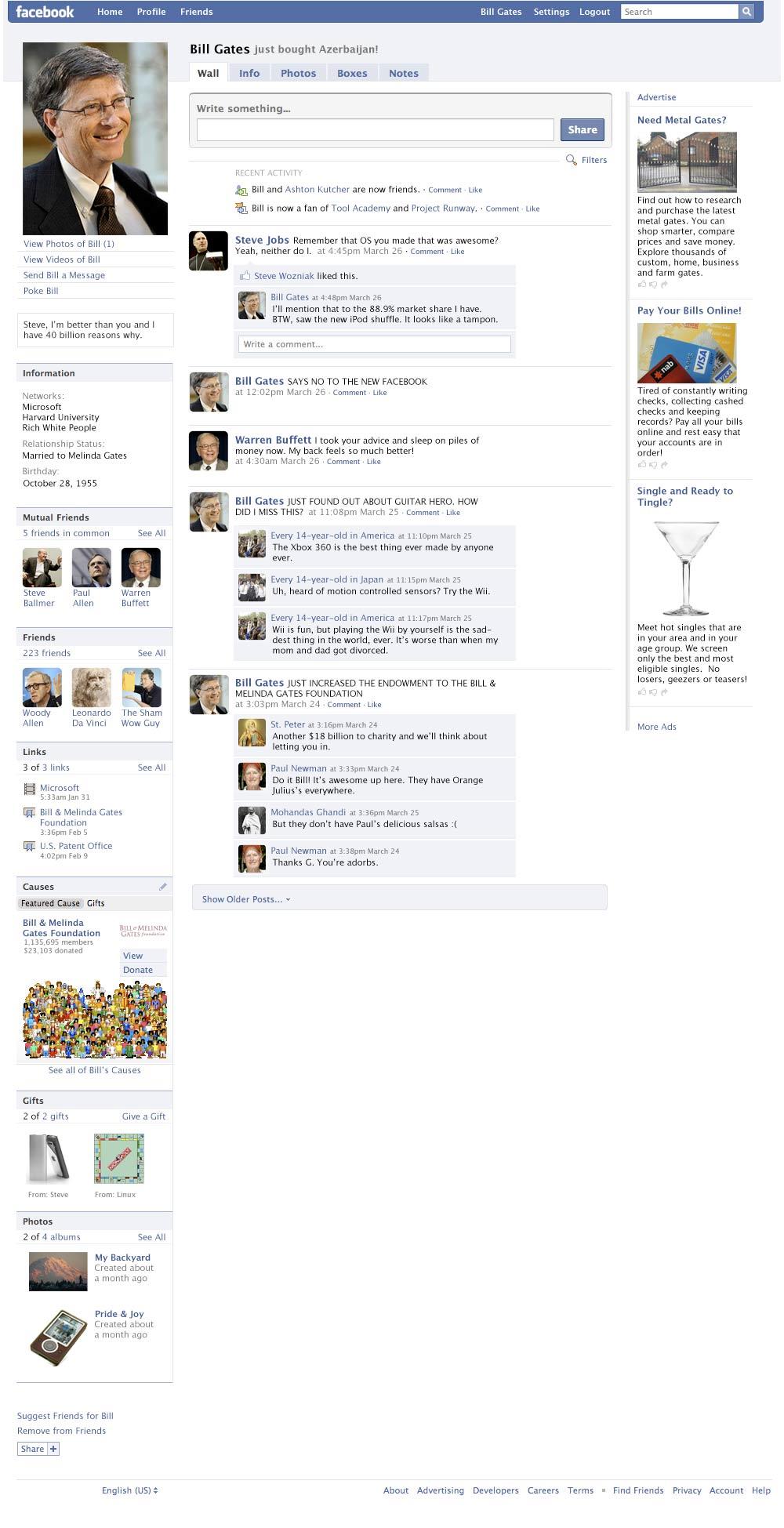 facebook-bill-gates
