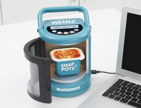 Heinz Snap Pots launches the world's smallest microwave – the Beanzawave