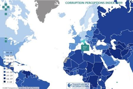cpi 2009 transparency internacional