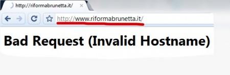 riforma brunetta down