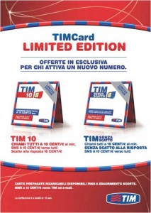 timcard limited edition