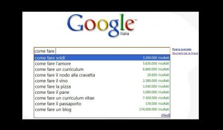 parole cercate google search come fare soldi