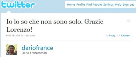 twitter franceschini