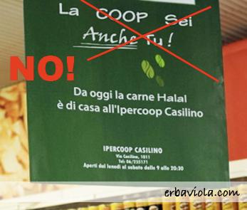ipercoop macelleria halal