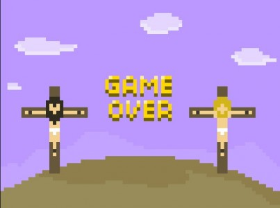jesus ran flash game