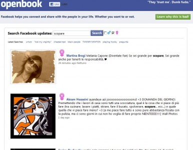 openbook search statusupdate facebook