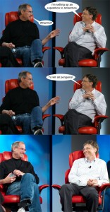 steve jobs versus bill gates
