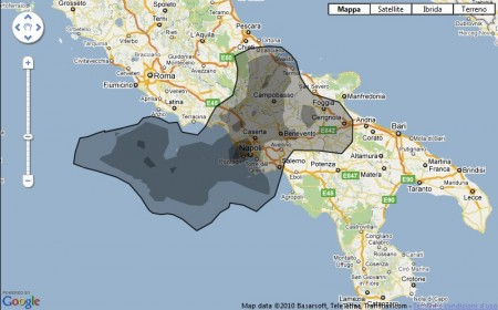 oil spill petrolio sud italia